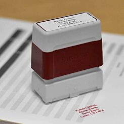 Brother Personalised Stamp 18mmx50mm Red
