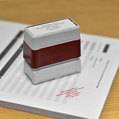 Brother Personalised Stamp 22mmx60mm Red
