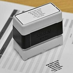 Brother Personalised Stamp 27mmx70mm