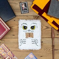 Harry Potter Plush Hedwig Notebook A5