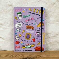 Friends Casebound Notebook A5