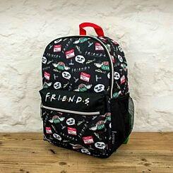 Friends Black Backpack
