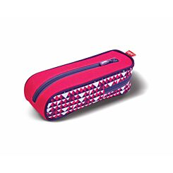 ZIPIT Davis Curved Pencil Case Pink