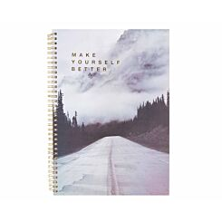 Ryman A4 Spiral Notebook Grey