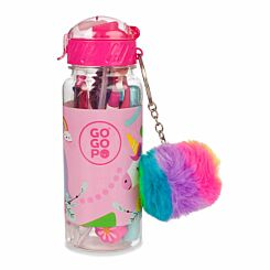 GOGOPO Unicorn Stationery Filled Reusable Bottle