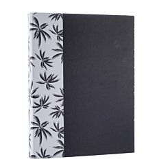 Black and Gold Palm Tree Ringbinder
