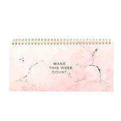 Eden Spiral Bound Weekly Planner Notepad