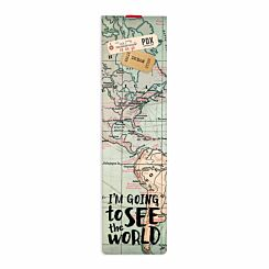 Legami Elastic Bookmark Travel