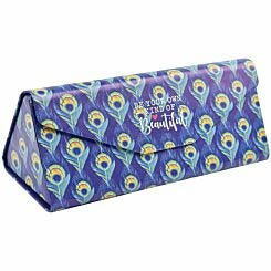 Legami See You Soon Foldable Glasses Case Peacock
