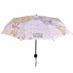 Legami Folding Umbrella Travel Map