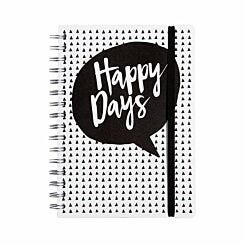 Panda Happy Days Notebook A5