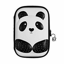 Panda 3D Hardtop Pencil Case Filled