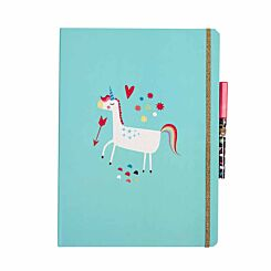 Unicorn Dreams Luxury A4 Notepad Set