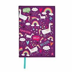 Unicorn Dreams Notebook A5