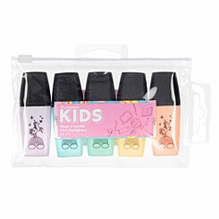 Magic and Sparkle Mini Highlighter Pack of 5