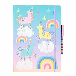 Magic and Sparkle Luxury Notepad Set A4