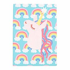 Magic and Sparkle Plush Notebook A5