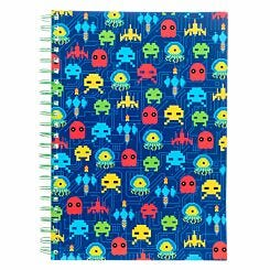 Gamer Softcover Notebook A4
