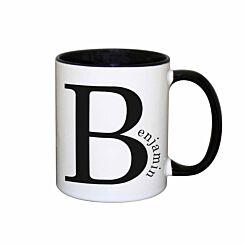 Personalised Name in Initial Mug