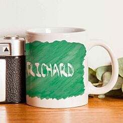 Personalised Left Handed and Proud Mug