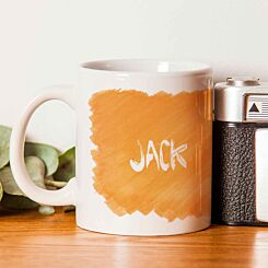 Personalised Ginger and Proud Mug