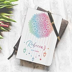 Personalised Dream Catcher Notebook A5