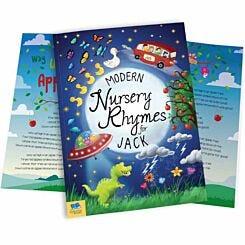 Personalised Modern Nursery Rhymes Softback Book