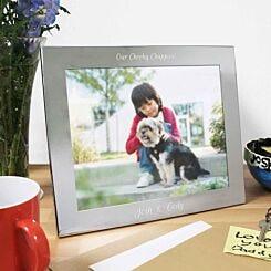 Personalised Landscape 10 x 8 Photo Frame