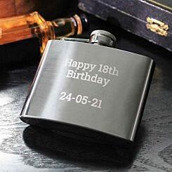 Personalised Engraved Hip Flask