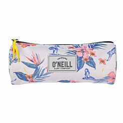 ONeill Floral Pencil Case White