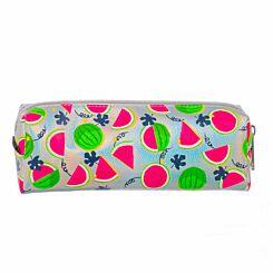 Watermelon Silver Wedge Pencil Case