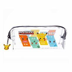 Pokemon Clear Pencil Case