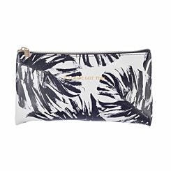 Palm Print Flat Pencil Case