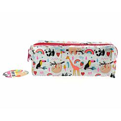 Happy Zoo Just Hangin Pencil Case