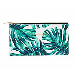 Ryman Palm Print Pencil Case