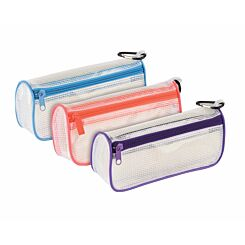 Tuff Wedge Pencil Case Assorted