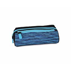 Sporty Panel Wedge Pencil Case Assorted