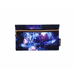 Galaxy Flat Pencil Case