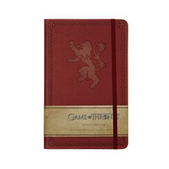Game of Thrones House of Lannister Ruled Journal