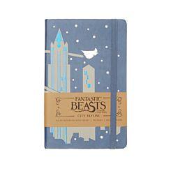 Fantastic Beasts City Skyline Pocket Ruled Journal