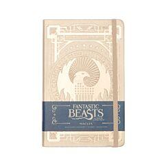 Fantastic Beasts MACUSA Ruled Journal