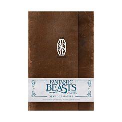 Fantastic Beasts Newt Scamander Ruled Journal