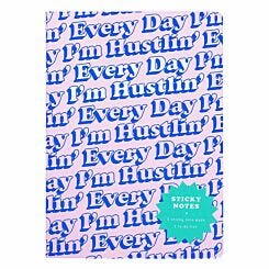 Yes Studio Every Day I'm Hustlin Sticky Notes
