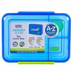 Polar Gear Clic-Tite  A-Z Sticker Lunch Box 1.1 Litre