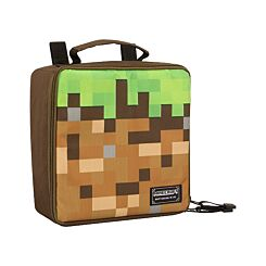 Minecraft Lunch Box Dirt Block Style