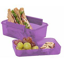 Polar Gear Double Decker Lunch Box Berry