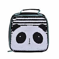 Polar Gear Panda Sequin Lunch Bag
