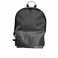Inverse White Striped Backpack