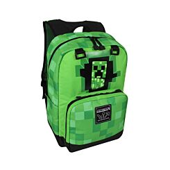 Minecraft Padded Creeper Backpack Green