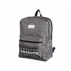 Awesome Double Backpack Grey